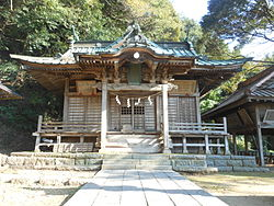 Kokage_shrine_Haiden